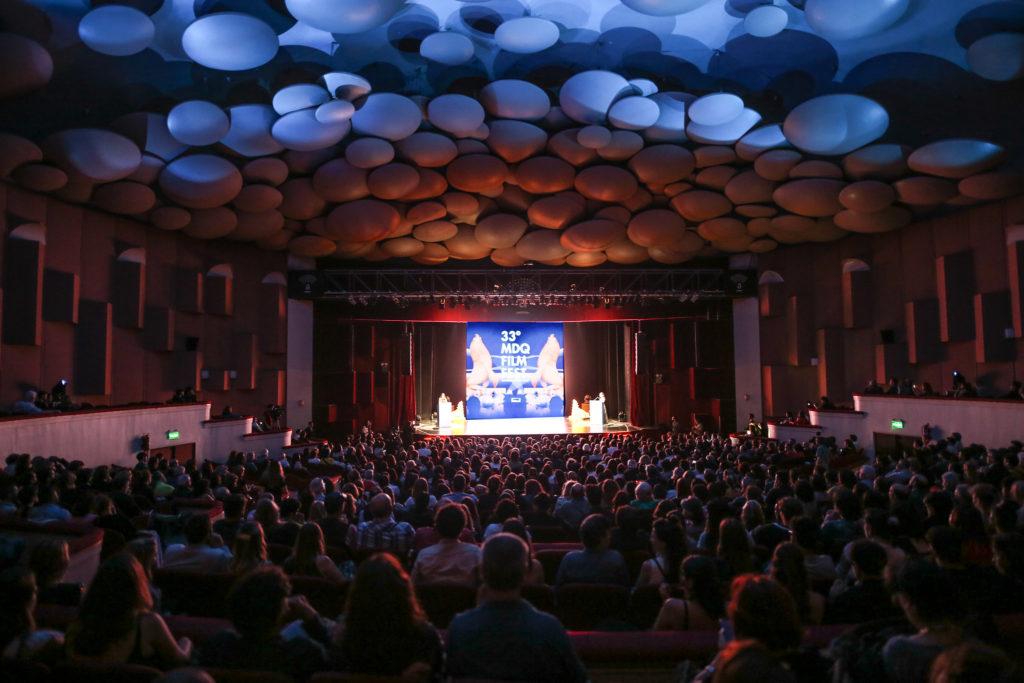 Sala llena en el Festival Internacional de Cine de Mar del Plata