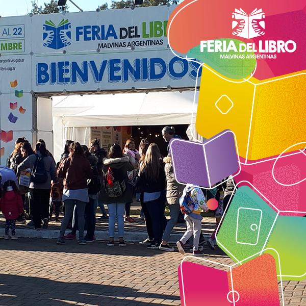 Acceso a la Feria del Libro de Malvinas Argentinas