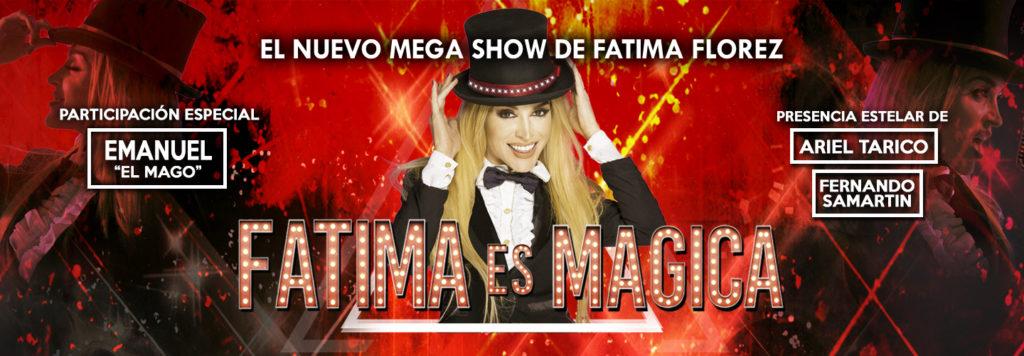Fátima es Mágica afiche